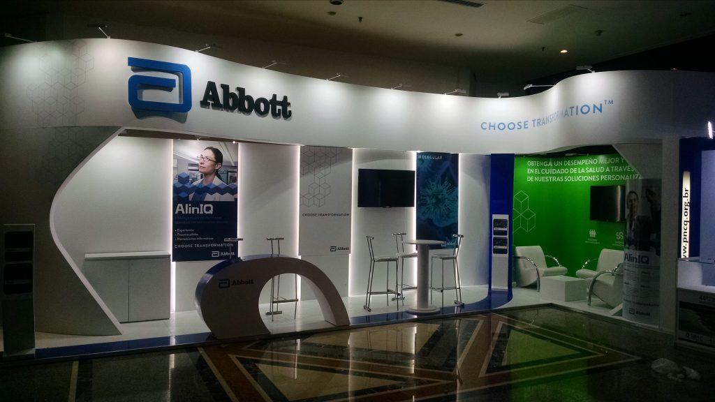 Stand para Abbott Diagnostics en Congreso Calilab – Argentina