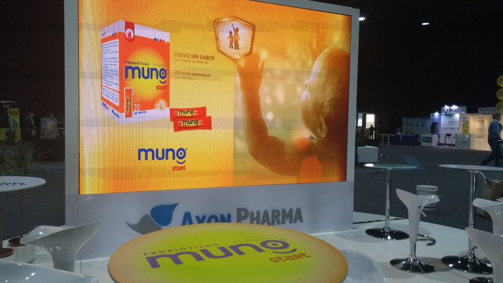 Lanzamiento de Probiótico Muno para Axon Pharma – Chile
