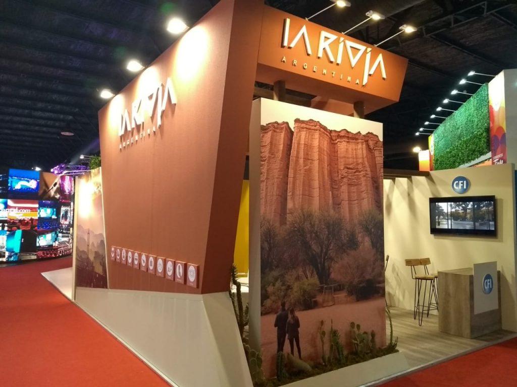 Stand La Rioja en Expoeventos – Argentina