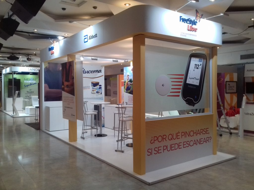Stand de FreeStyle Libre para Abbott Diabetes Care – Argentina