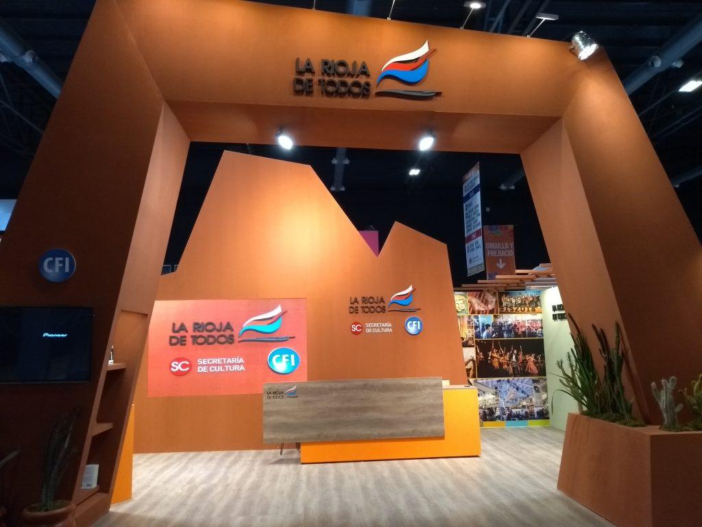 Stand La Rioja en Feria del Libro – Argentina