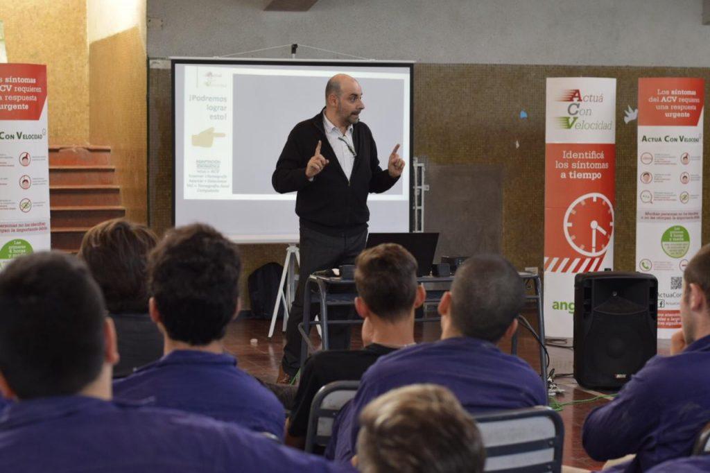 Campaña de Concientización ACV en Escuelas Secundarias para Angels Initiatiative – Ciudad de Mendoza,